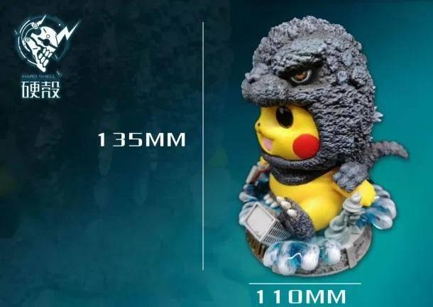 Pikachu Godzilla