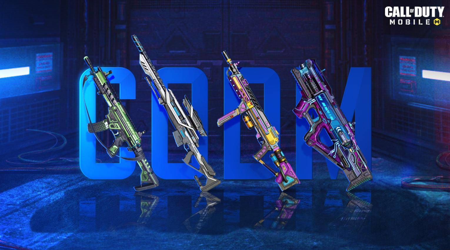 COD Mobile New Order weapons