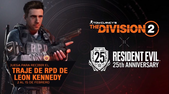 The division 2 resident evil evento