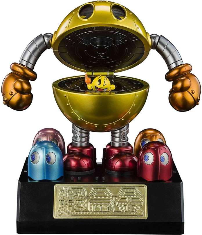 Pac-Man lanza al mercado una figura transformable que lanza fantasmas 1