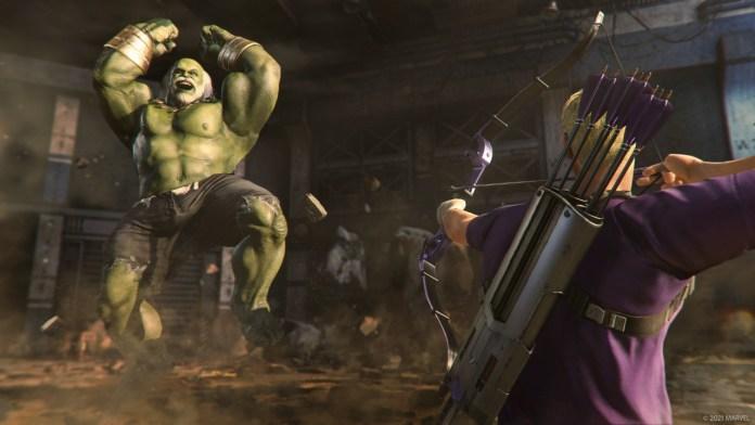 Marvel's Avengers, Hawkeye