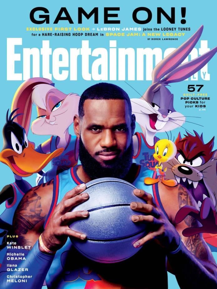 """LeBron """"King"""" James ingresa a la duela para enfrentar el partido más importante de su vida. Lo mejor es que tendrá a los Looney Tunes de su lado."""