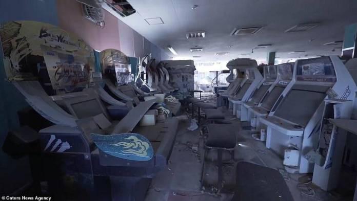 Conoce el Sega World de Fukushima: un arcade cubierto de polvo radioactivo 1
