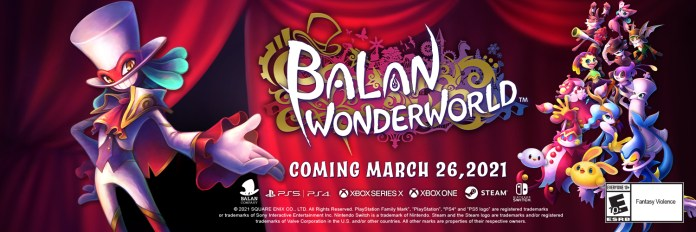 Square Enix Presents: Balan Wonderworld presenta Modo Cooperativo en Tráiler 1