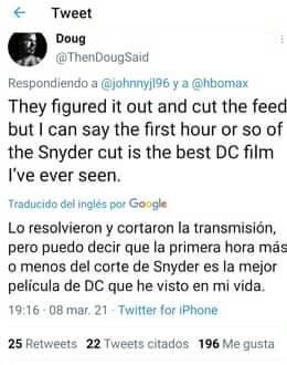 El 'Snyder Cut' es filtrado por error en HBO Max 2