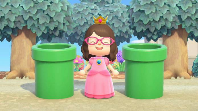 Animal Crossing: Los toboganes de Super Mario llegan este 2021 1