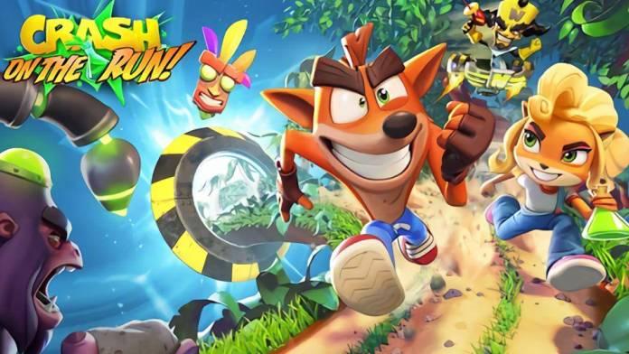 Crash Bandiccot: On The Run el juego Free to Play ya esta disponible en iOS y Android.
