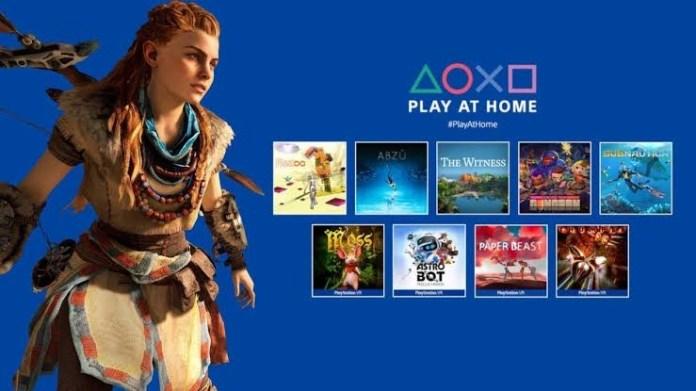 #PlayAtHome: Horizon Zero Dawn y 9 juegos más! 1