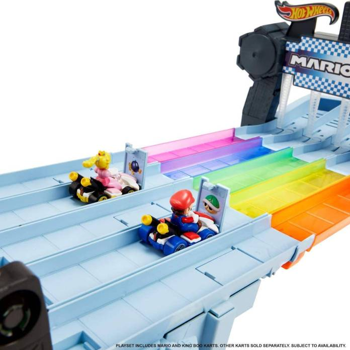 Mario Kart: Senda Arcoiris Hot Wheels