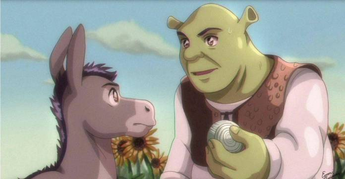 Shrek Anime