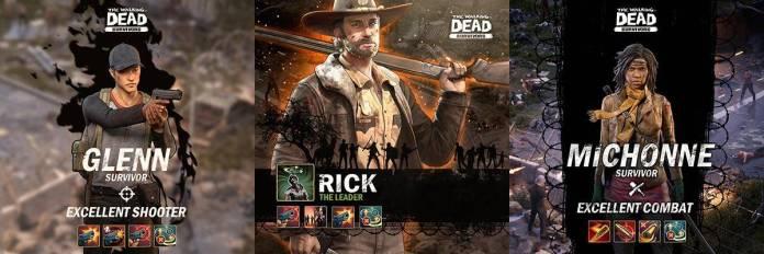 The Walking Dead: Survivors (Personajes)