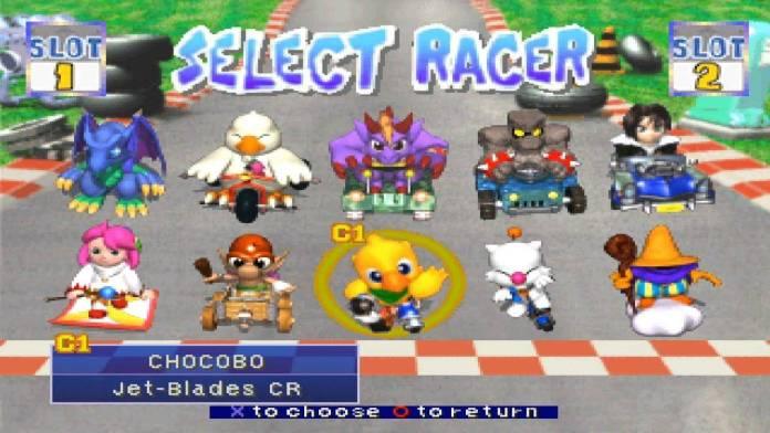 Chocobo Racing nace como un mini juego dentro de Final Fantasy VII, pero fue de gran agrado para los fans que decidieron realizar un Spin Off en 1999