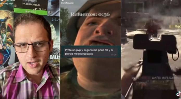 Profesor, Tik Tok, Call of Duty Warzone