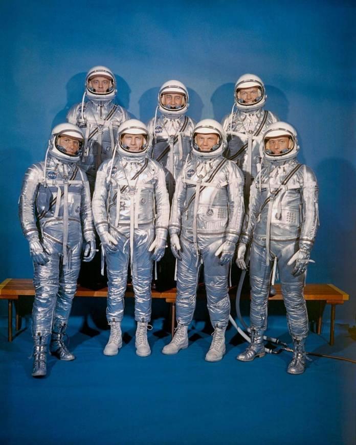 Proyecto Mercury: Los siete valientes