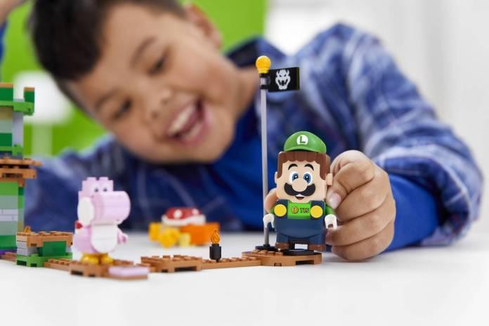 Luigi se unirá al set de LEGO Super Mario 8