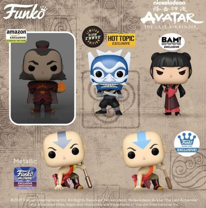 Avatar La Leyenda de Aang: Nueva ola de Funko Pop viene en camino y trae figuras exclusivas 1