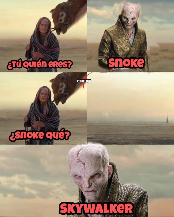 ¿Snoke Skywalker? ¡Star Wars revela que Snoke es un clon de Luke? 3