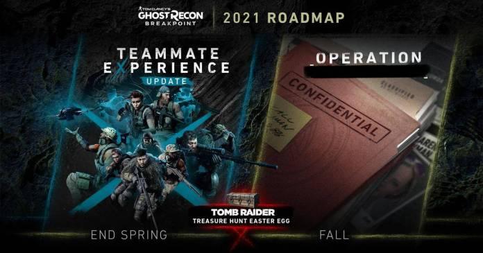 Conoce el roadmap de Ghost Recon Breakpoint para este 2021 1