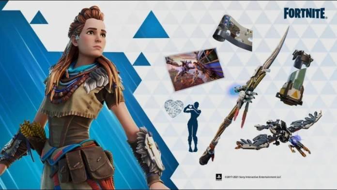 Horizon Zero Dawn: Aloy se une al Battle Royale con skin para Fortnite!