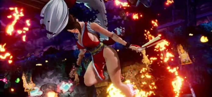 Se confirma la presencia de Mai Shiranui en The King of Fighters XV 3