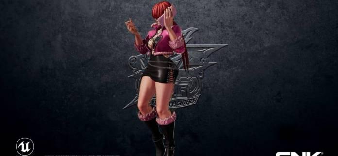 Shermie estará en The King of Fighters XV 2