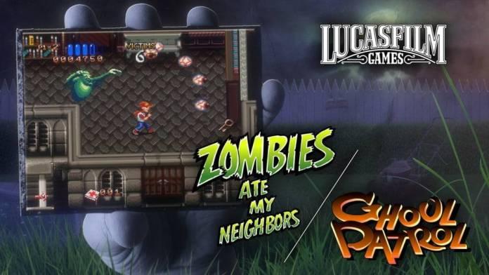 Zombies Ate My Neighbors y Ghoul Patrol llegarán a Nintendo Switch en junio 1