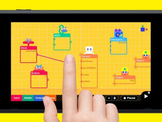 Nintendo te invita a crear tus propios juegos con Game Builder Garage 1