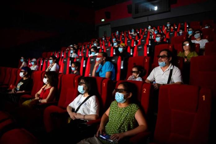 A quiet place cine