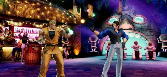 Robert García y Ryo Sakazaki también se estarán en The King of Fighters XV 9