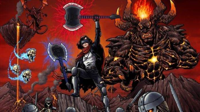 God of Riffs el nuevo juego de VR que nos llevará un mundo lleno de Heavy Metal.