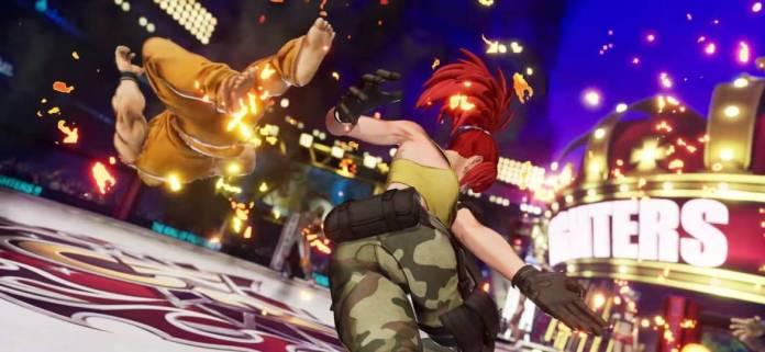 Se presenta Leona en The King of Fighters XV 6