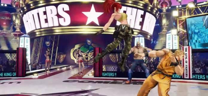 Se presenta Leona en The King of Fighters XV 3