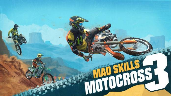 Mad Skills Motocross 3 llega a dispositivos móviles este 25 de Mayo.