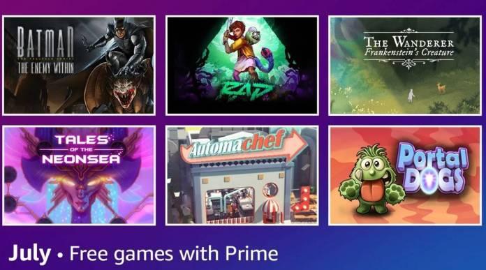 Amazon Prime Gaming: Conoce todas las novedades y recompensas de Julio 2