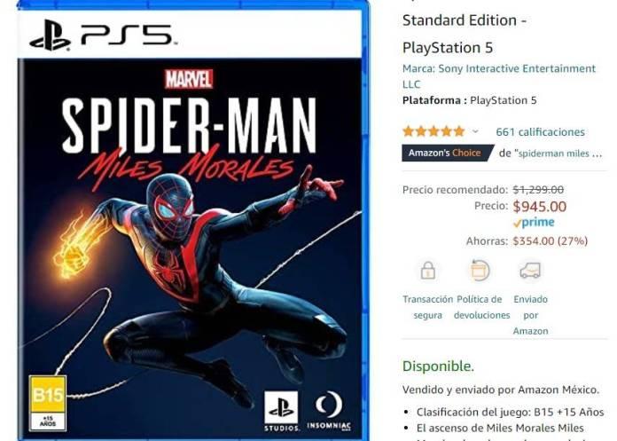 Amazon Prime Day trae de vuelta al PS5 hasta un precio bajo histórico 4