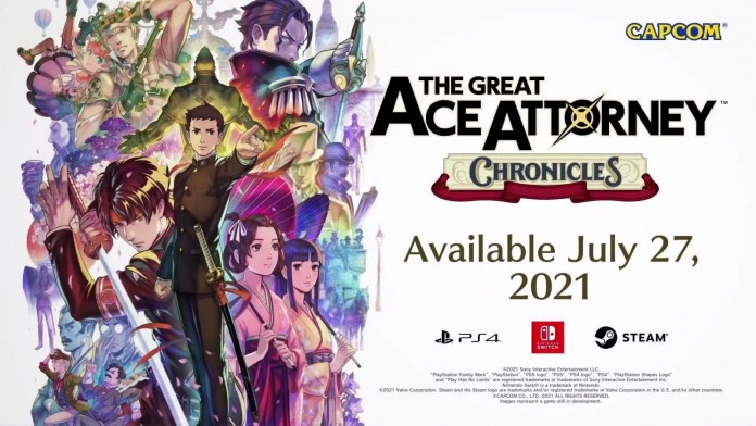 Capcom presenta The Great Ace Attorney: Chronicles