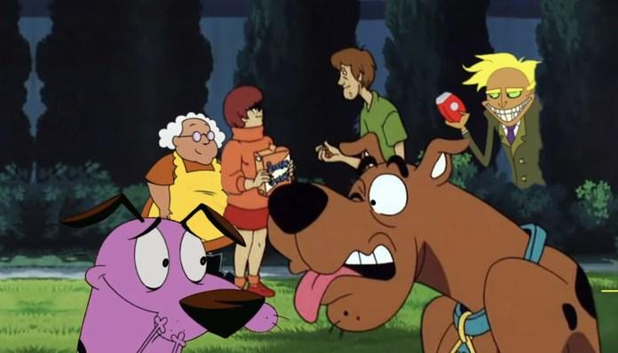 Se filtra épico crossover entre Scooby Doo y Coraje, el perro cobarde 1