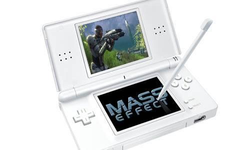 BioWare planeó un Mass Effect para el Nintendo DS y por esto lo canceló 1