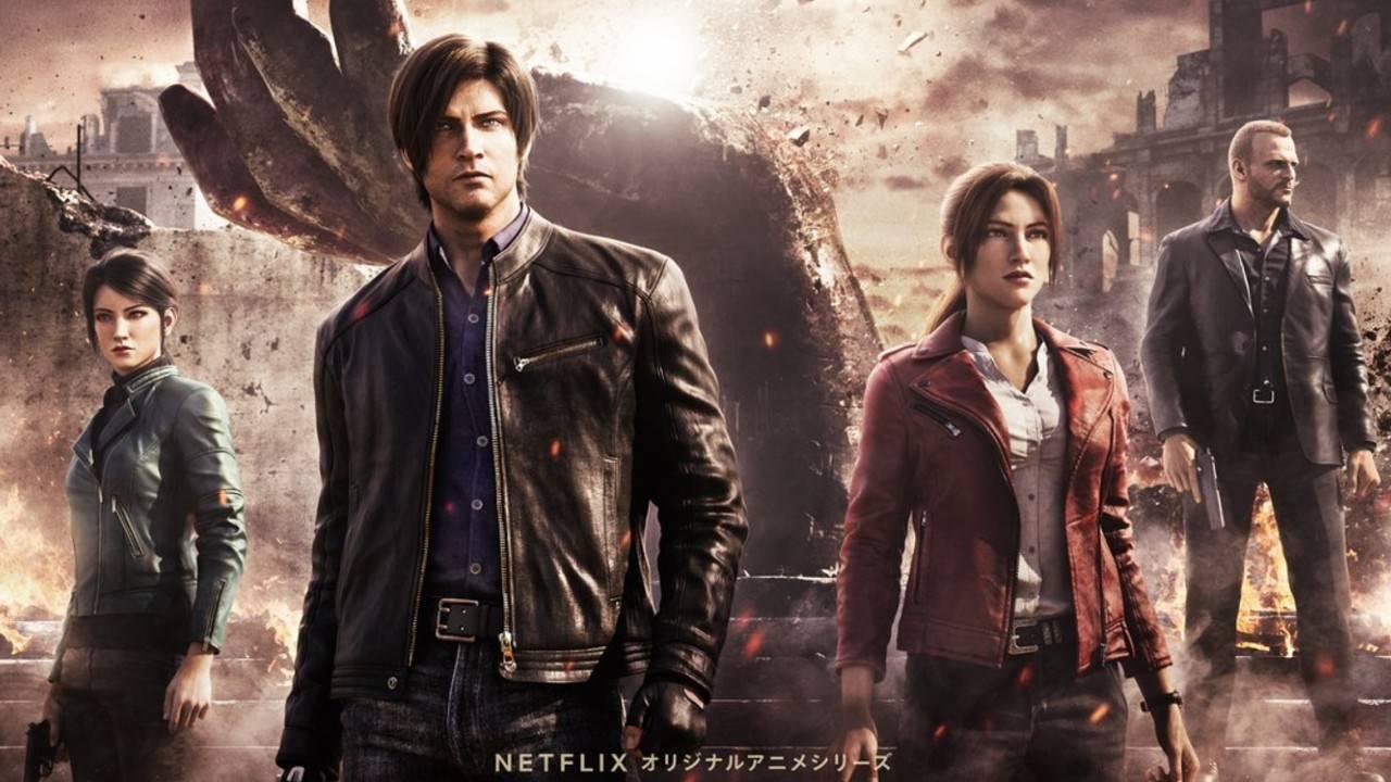 Resident Evil Infinite Darkness Netflix