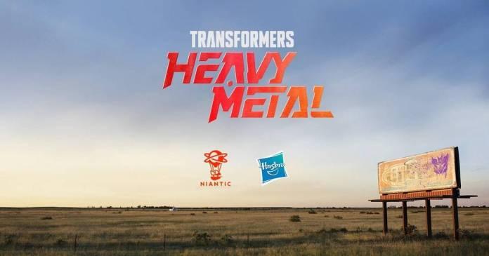Niantic, Pokemon Go, Transfomers Heavy Metal