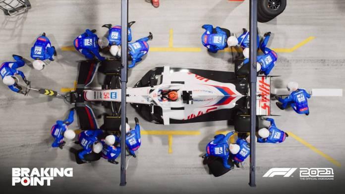 F1 2021 muestra los primeros detalles de Breaking Point 8