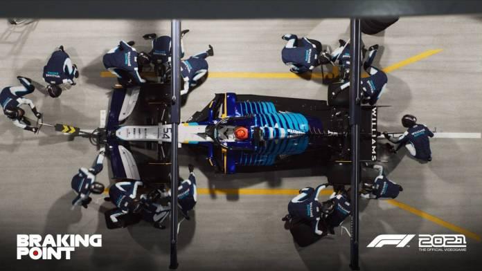 F1 2021 muestra los primeros detalles de Breaking Point 9