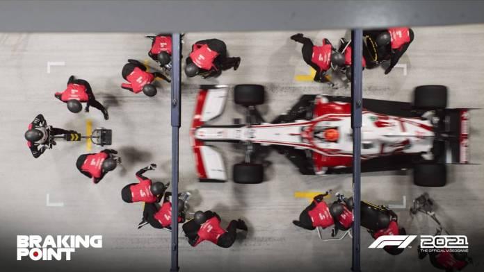 F1 2021 muestra los primeros detalles de Breaking Point 12