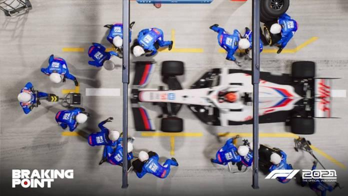 F1 2021 muestra los primeros detalles de Breaking Point 13