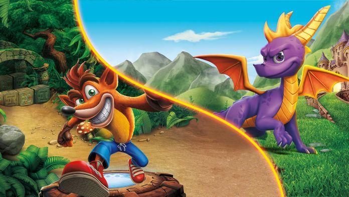 Los proyectos animados de Spyro the dragón y crash bandicoot ya están en producción para la plataforma de Apple TV