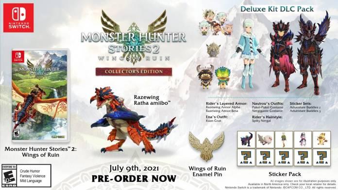 Monster Hunter Stories 2: Wings of Ruin se prepara para su lanzamiento liberando la cinemática inicial 3