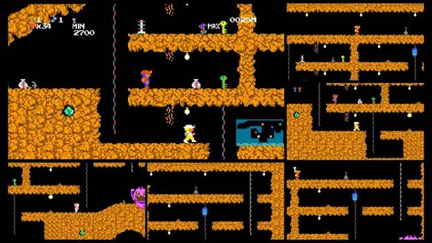 Stricly Limited presenta Spelunker HD Deluxe (Nintendo Switch, PlayStation 4) 2