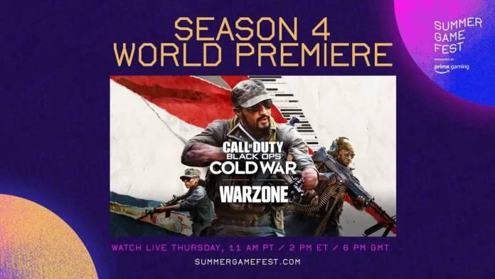 Call of Duty Cold War y Warzone presentan trailer de la temporada 4 durante el Summer Game Fest