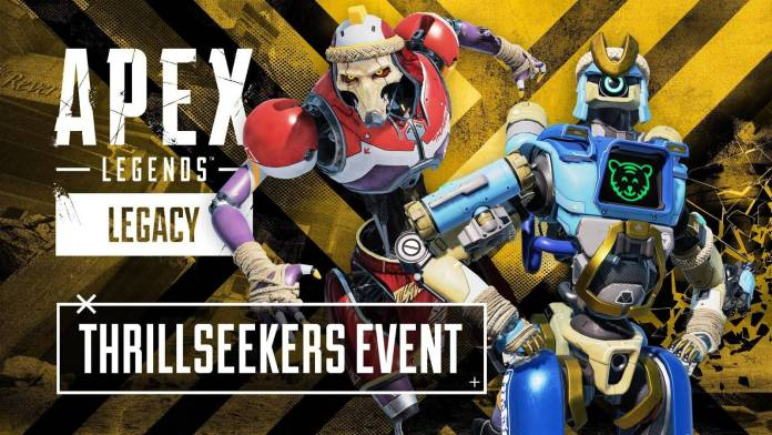Apex Legends presenta: Thrillseekers su nuevo evento que llegará el 13 de Julio y estará disponible hasta el 3 de Agosto con un nuevo mapa, recompensas y nuevas Skins.