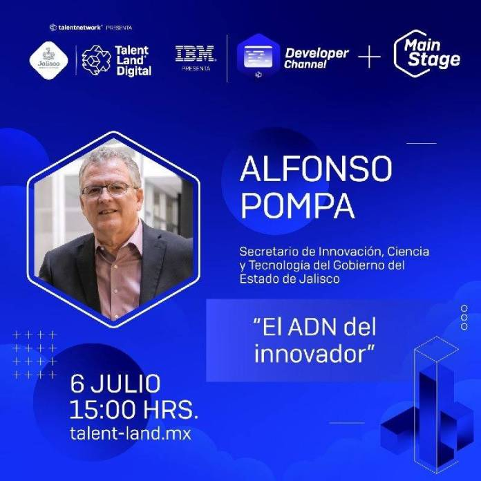 """Talent Land Digital 21: """"El ADN del Innovador"""" de Pompa Padilla 1"""